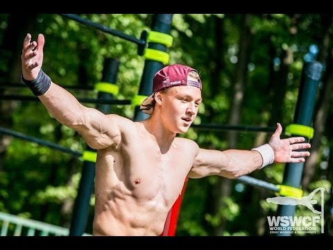 King Of Street Workout and Calisthenics Daniels Laizans