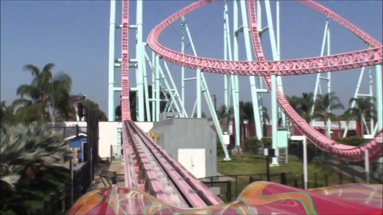 Xcelerator Knotts Berry Farm HD POV  Knott s Berry Farm