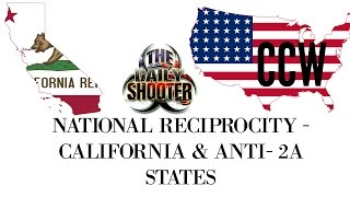 National Reciprocity Concealed Carry & Anti Gun States