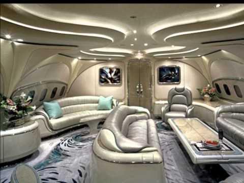 Aviones de los magnates extremadamente lujosos!