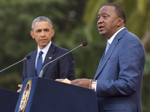 Obama Vs Kenyan President On Gay Rights