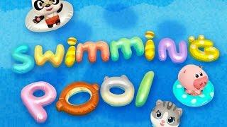 Dr. Panda's Swimming Pool Part 1 - Best iPad app demo for kids - Ellie