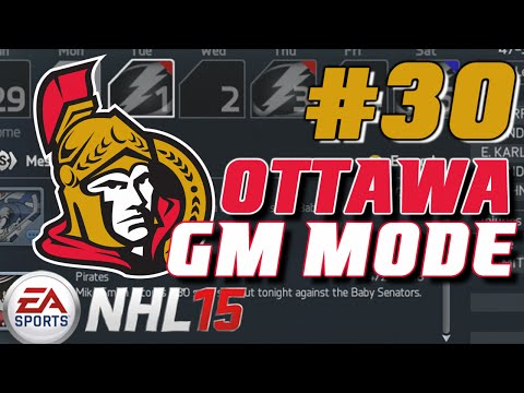 NHL 15: GM Mode Commentary - Ottawa ep. 30