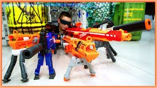 NERF SNIPER RIFLE Challenge with 6 Coolest SNIPER NERF Blasters