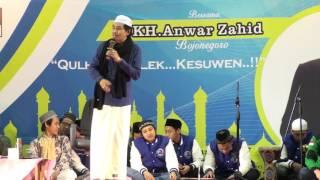 KH Anwar Zahid 1-1-2017 Gumi co,Korea Selatan part 5 FULL HD