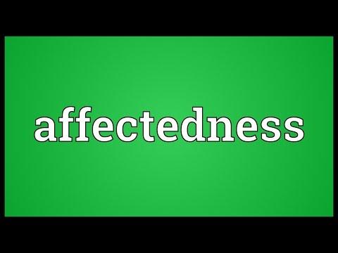 Header of affectedness