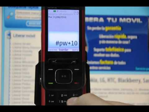 Video: Liberar NOKIA 5610 XpressMusic, cmo desbloquear NOKIA 5610 XpressMusic de Vodafone - Movical.Net