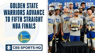 Golden State Warriors make FIFTH straight NBA Finals | Can Raptors or Bucks beat GS? | CBS Sports HQ