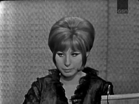 What's My Line? - Barbra Streisand; Gore Vidal [panel] (Apr 12, 1964)