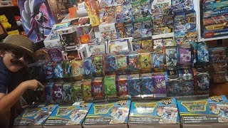My REAL NAME UNVEILED! Opening MEGA MYSTERY POWER BOX!! ROAD TO 100K!! VINTAGE POKEMON BOOSTER PACK!