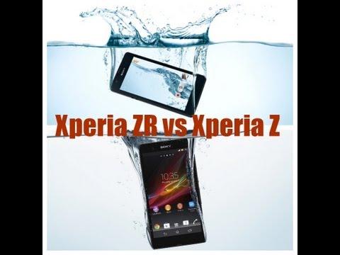 Xperia ZR vs Xperia Z (Spec Comparison)
