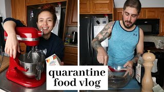 a quarantine vlog: vegan challah, soy curl jerky and other food adventures