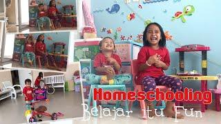 Dunia Anak | Belajar dan Tantangan | Buka Kinder Joy dan Ball Surprise | Zara Cute Homeschooling
