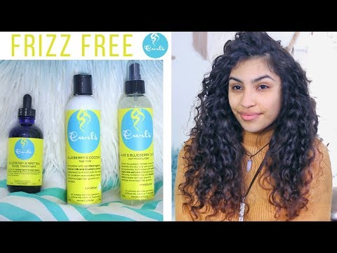 Curls Triple Threat Review // Frizz Free Curly Hair