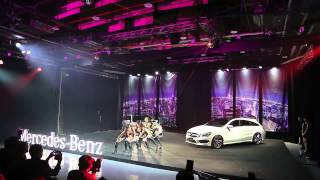 20150428Mercedes-Benz CLA Shooting Brake 發表會熱舞表演!