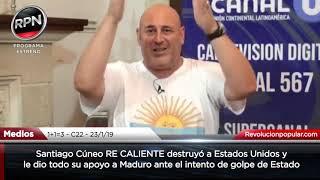 *LES DECLARÓ LA GUERRA* Cúneo RE CALIENTE destruyó a EE.UU. y apoyó a Maduro