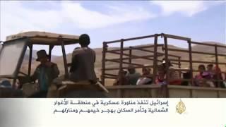 مناورة عسكرية إسرائيلية بمنطقة الأغوار الشمالية
