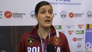 CAMPIONATI ITALIANI ASSOLUTI 2017 - IL COMMENTO DEI VINCITORI: JEANINE CICOGNINI