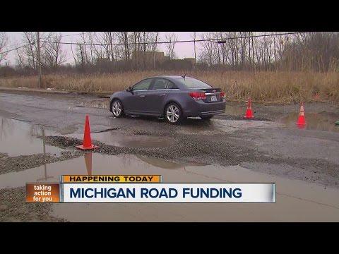 Will Michigan legislature deal with road funding?
