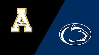 Week 1 2018 Appalachian State vs #10 Penn State Highlights Sept 1 2018