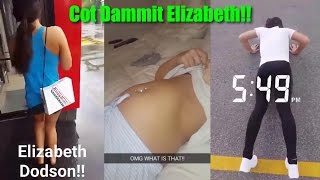Cot Dammit Elizabeth! - When your girlfriend is obsessed with food and keeps cheating on her diet!