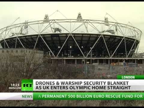 Missiles&warships in London: UK gears up for Olympics or war?