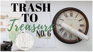 Trash to Treasure Video 6 ~  Farmhouse Style Makeovers ~ DIY Home Decor
