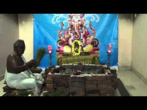 Ganapathi Homam, Ganapathy Homam, Ganesh Homam, Ganapati Homam-vedicfolks video