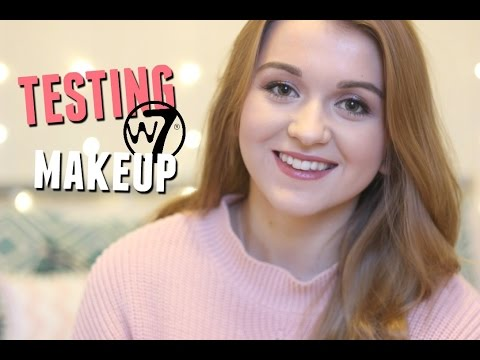 Testing Cheap W7 Make Up!!