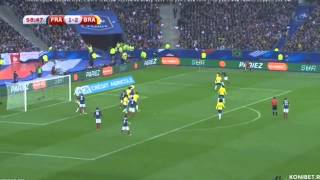 Brazil vs France 2015 Highlights All Goals 3-1 [ English HD ]