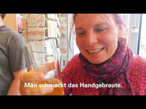 Premiere des Hörder Fackel Bieres bei transfer.bücher und medien. in Dortmund