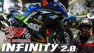 Infinity 2.0 by Shah Motorsports with Gen-2 Zongshen Engine