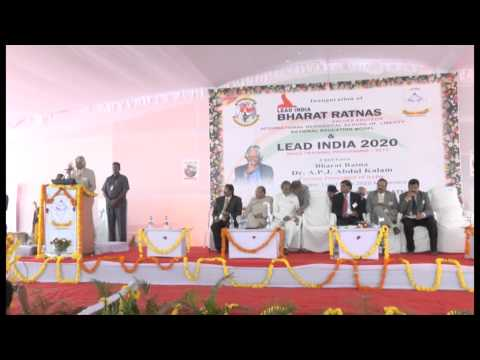 Lead India 2020 - APJ Abdul Kalam Speaks at Lead India 2020 Bharat Ratnas School Launch - Part -2