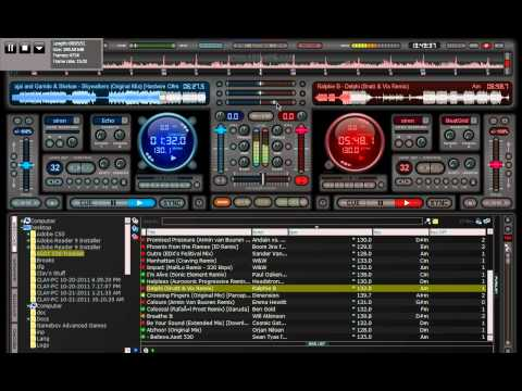 Trance Mix with Virtual DJ (ASOT 530 Cover Mix Part 7)