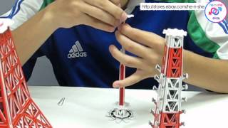 Tokyo Tower Japan 3D Puzzle Video demo tutorial now ready!