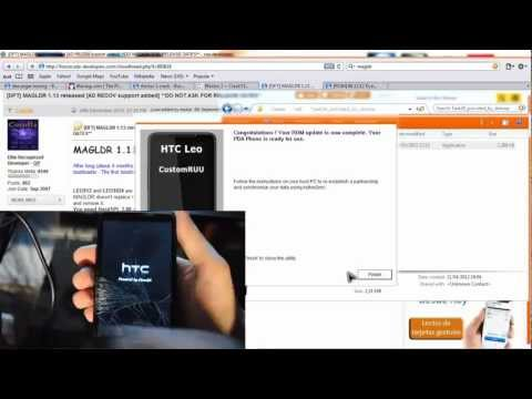 Instalar Android Native SD en HTC HD2 Tutorial Parte 1