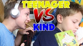 Teenager vs Kind - Abendroutine 🎉