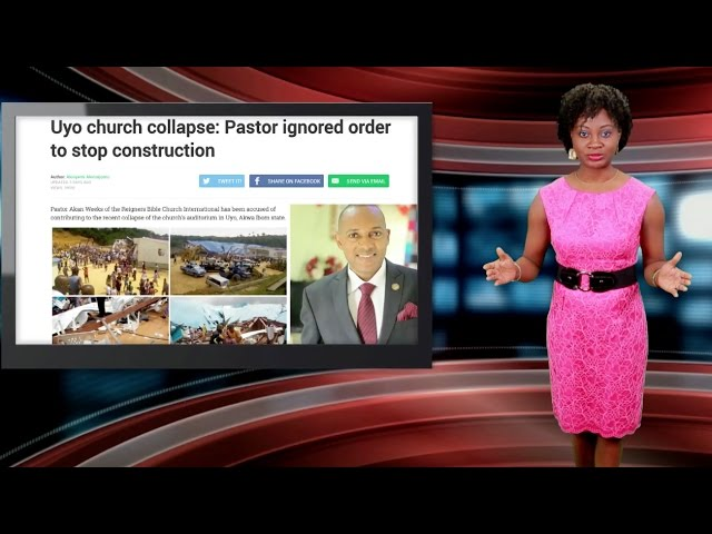 Nigerian Church Collapses After Pastor Ignores Stop-Work Order, 200 Dead