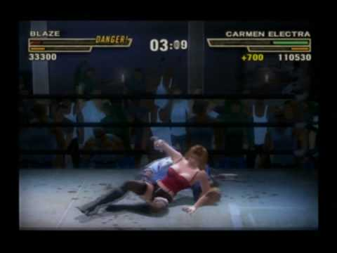 Def Jam FFNY: Method Man VS Carmen Electra