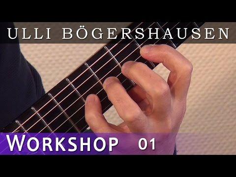 Ullis Gitarren Workshop, (German version) Tipps und Tricks in deutscher Sprache, Lektion 1
