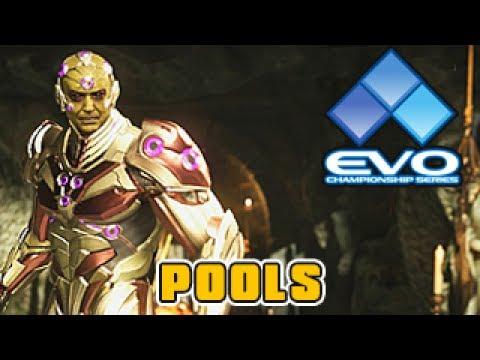 Injustice 2 | EVO 2017 Tournament | Pools 3 (SonicFox, Semiij, Perfect Legend