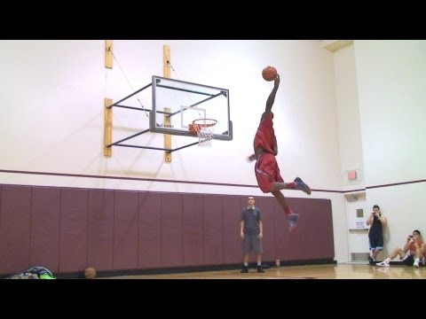 TFB::Dunks::Terrico White 1 of the BEST DUNKERS in the NBA (Warm Up Session)
