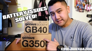 NOCO Genius G3500 & GB40 Unboxing and Review