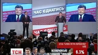 У штабі «Блоку Петра Порошенка» поспішають домовитись про коаліцію
