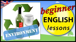 Evironment Vocabulary in English, Beginner English Lessons for Children