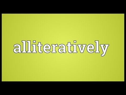 Header of alliteratively