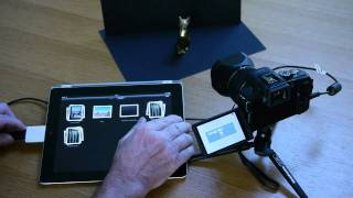 Using The Panasonic Lumix G3 With An iPad 2