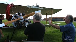 Sopwith Pup - Update & Flight w/ Cowling Incident