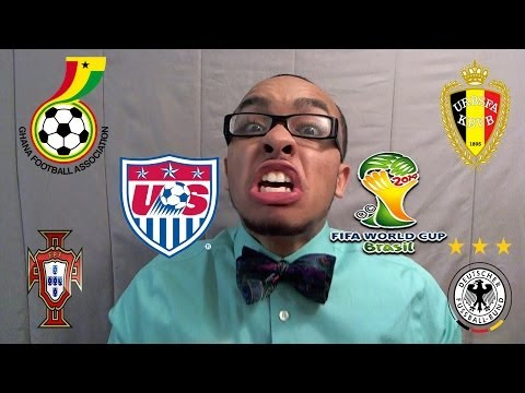 TEA: RECAP 2014 FIFA World Cup USA's Journey vs Ghana Portugal Germany Belgium