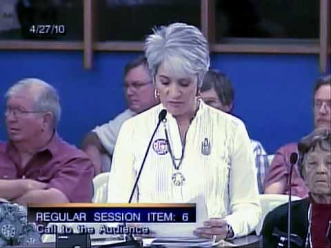 Legal immigrant Gabriella  Mercer Support the Arizona illegal immigration law SB1070